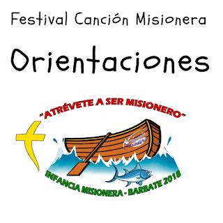 misioneros, Festival de la Canción misionera, EyFBarbate2018