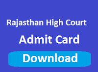 rajasthan high court admit card 2017 hcraj.nic.in