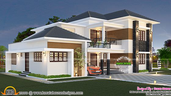 Elegant South Indian home