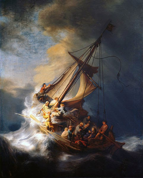 http://en.wikipedia.org/wiki/The_Storm_on_the_Sea_of_Galilee