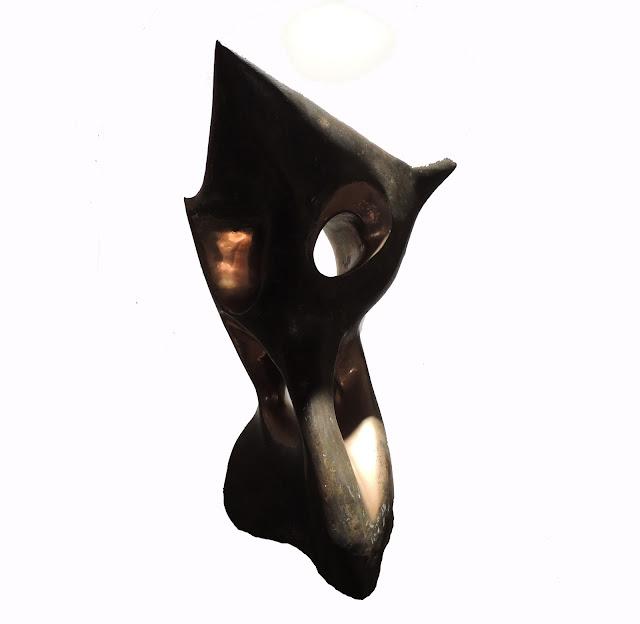 Hortensia Núñez Ladeveze Escultura de bronze arte contemporáneo