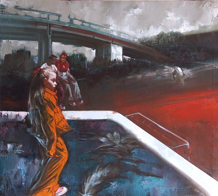 Итальянский художник. Alessandro Papari