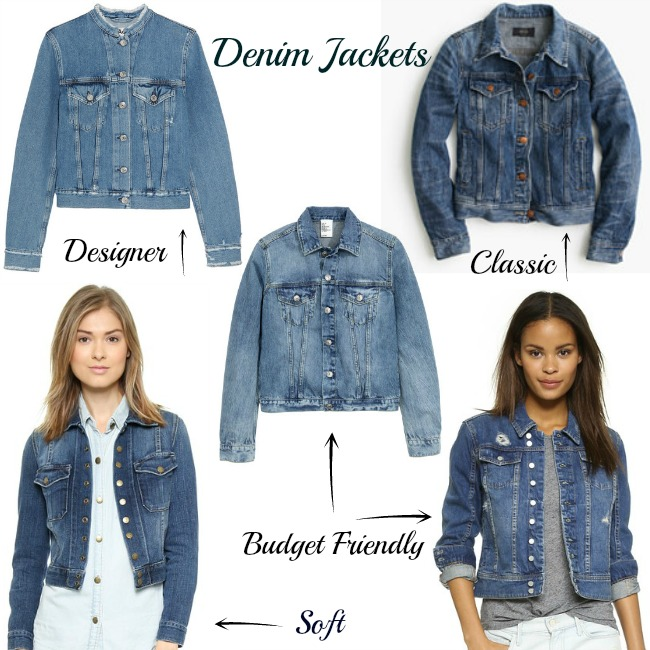 1aed197ed96 You can never go wrong with the classic J. Crew denim jacket