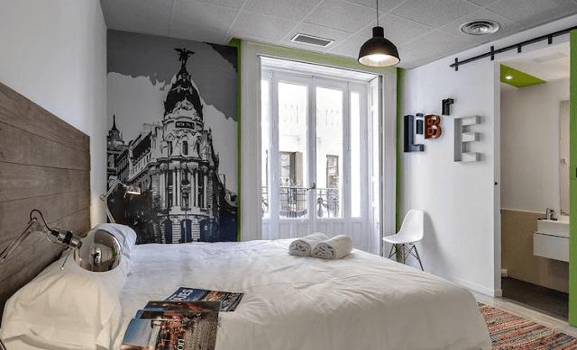U hostel alojamiento barato en Madrid