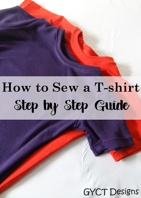 How to Sew a T-shirt: A Step by Step Guide