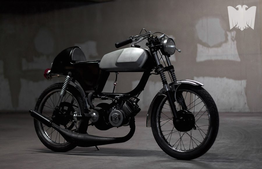 children of decadence cafe racer moped ~ return of the cafe racers