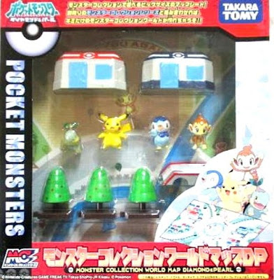 Takara Tomy Monster Collection World Map DP