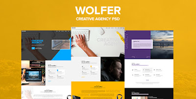 Download Creative PSD Template