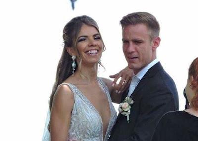 Ευχετήρια ανακοίνωση του Πλατανιά για τον γάμο του Φιλίπ Στανισάβλιεβιτς με την Μίνα