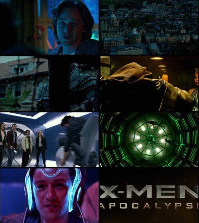 X-Men Apocalypse Official Trailer 720p HD Download