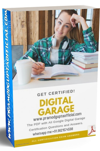 Google Digital Unlocked Final Exam Question And Answer 2019 100