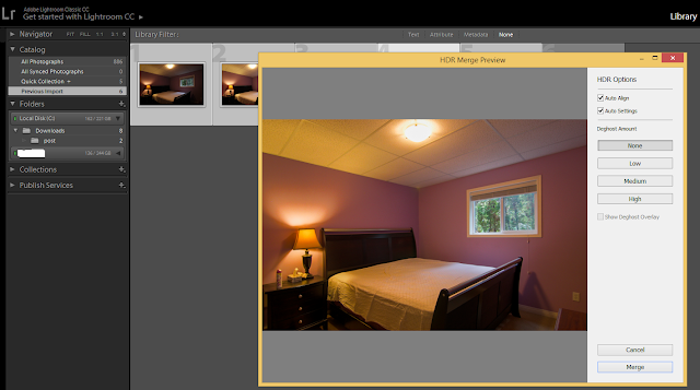 HDR photo preview lightroom