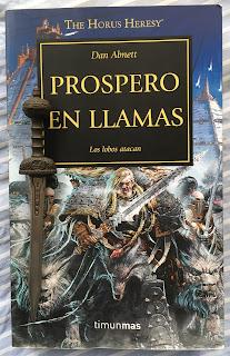 Portada del libro Prospero en llamas, de Dan Abnett