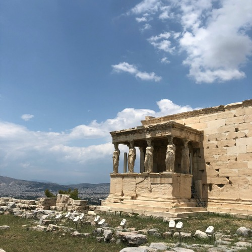 Erechtheion Acropolis Athens Greece