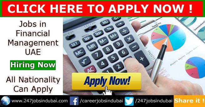 Latest Jobs in Dubai in Finance for Freshers