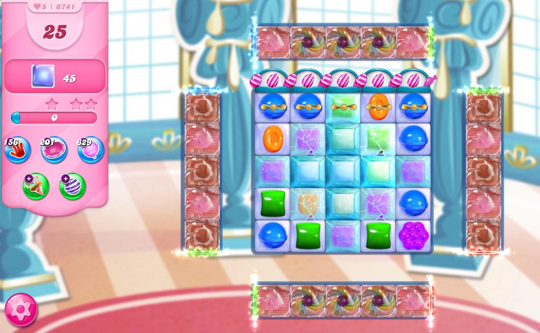 Candy Crush Saga level 6741
