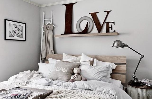 Para decorar un dormitorio