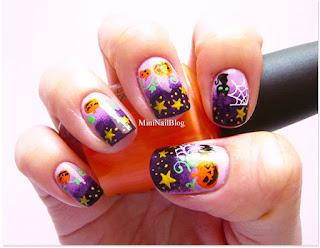 Fotos uñas pintadas para Halloween