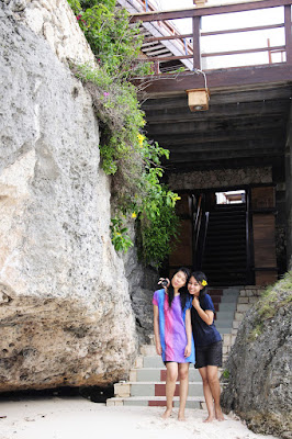 baju basah manis dan baju ketat Cewek Manis Tashya Uneputty di Pantai Pasir Putih Tanjung Bira, Bulukumba