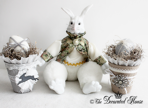 The decorated house for Easter decorations for the home pinterest