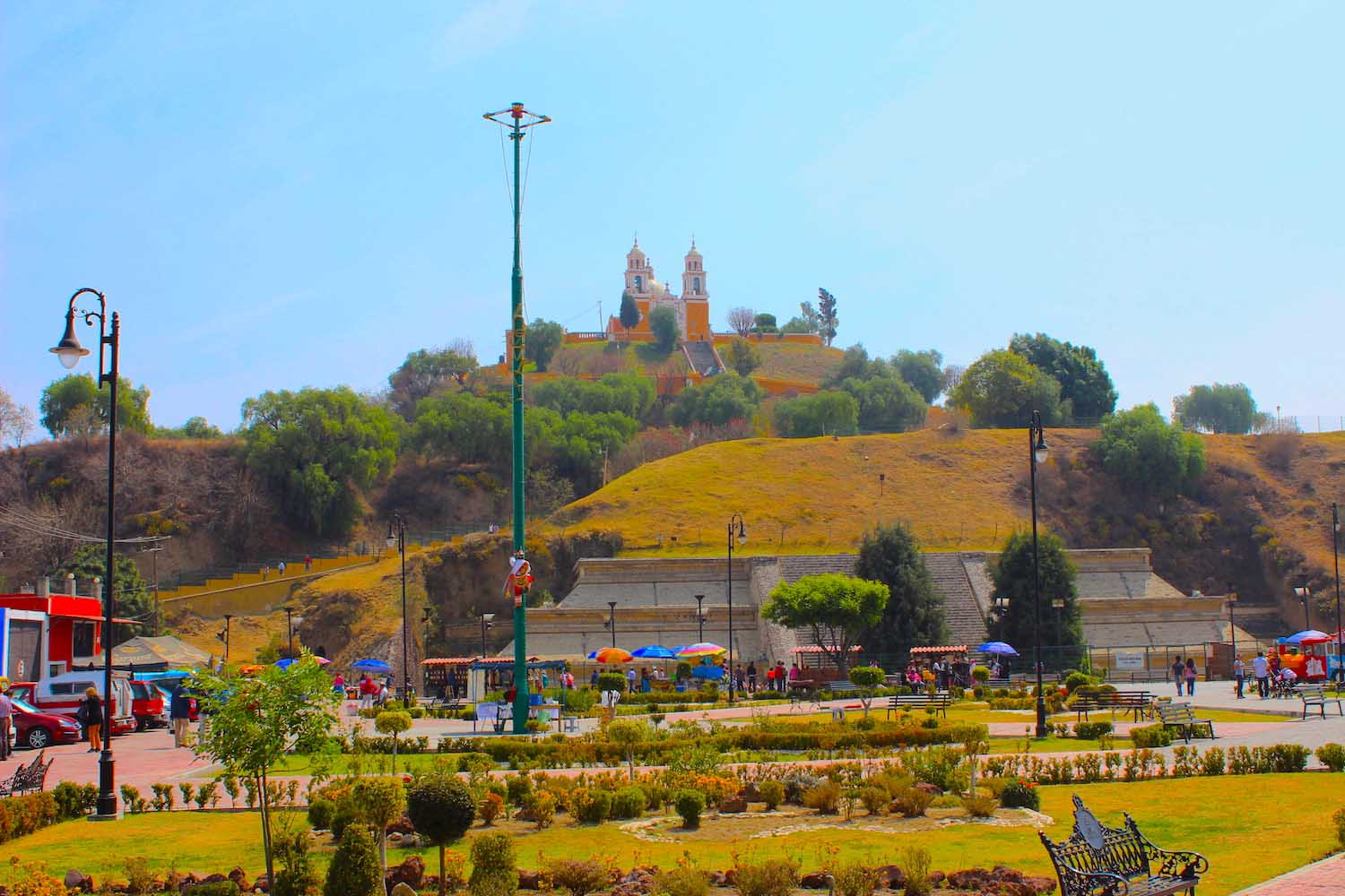 Church of our Lady of Remedies cholula