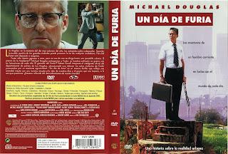 Carátula dvd: Un día de furia \ Falling Down