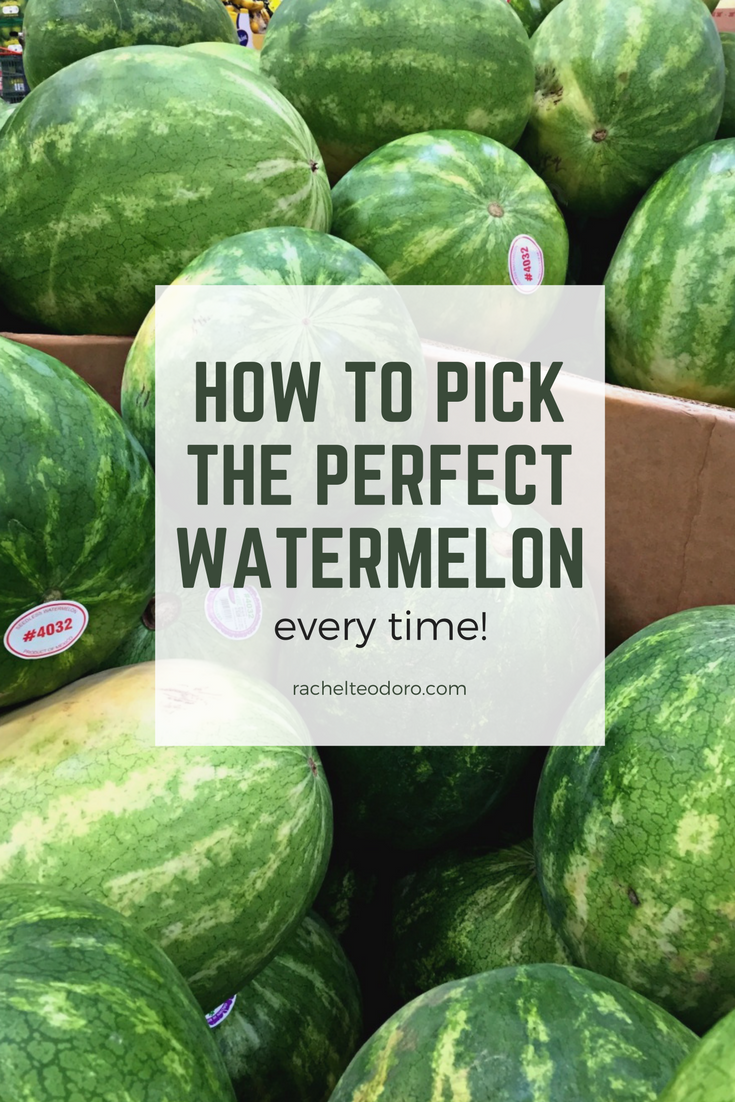 How To Pick Kitchen Paint Colors: How To Pick The Perfect Watermelon Every Time!