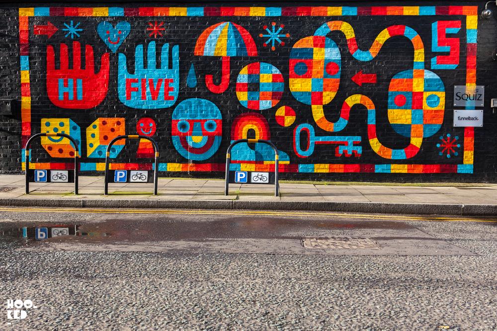 David Shillinglaw, London Street Art Mural. Photo ©Hookedblog / Mark Rigney