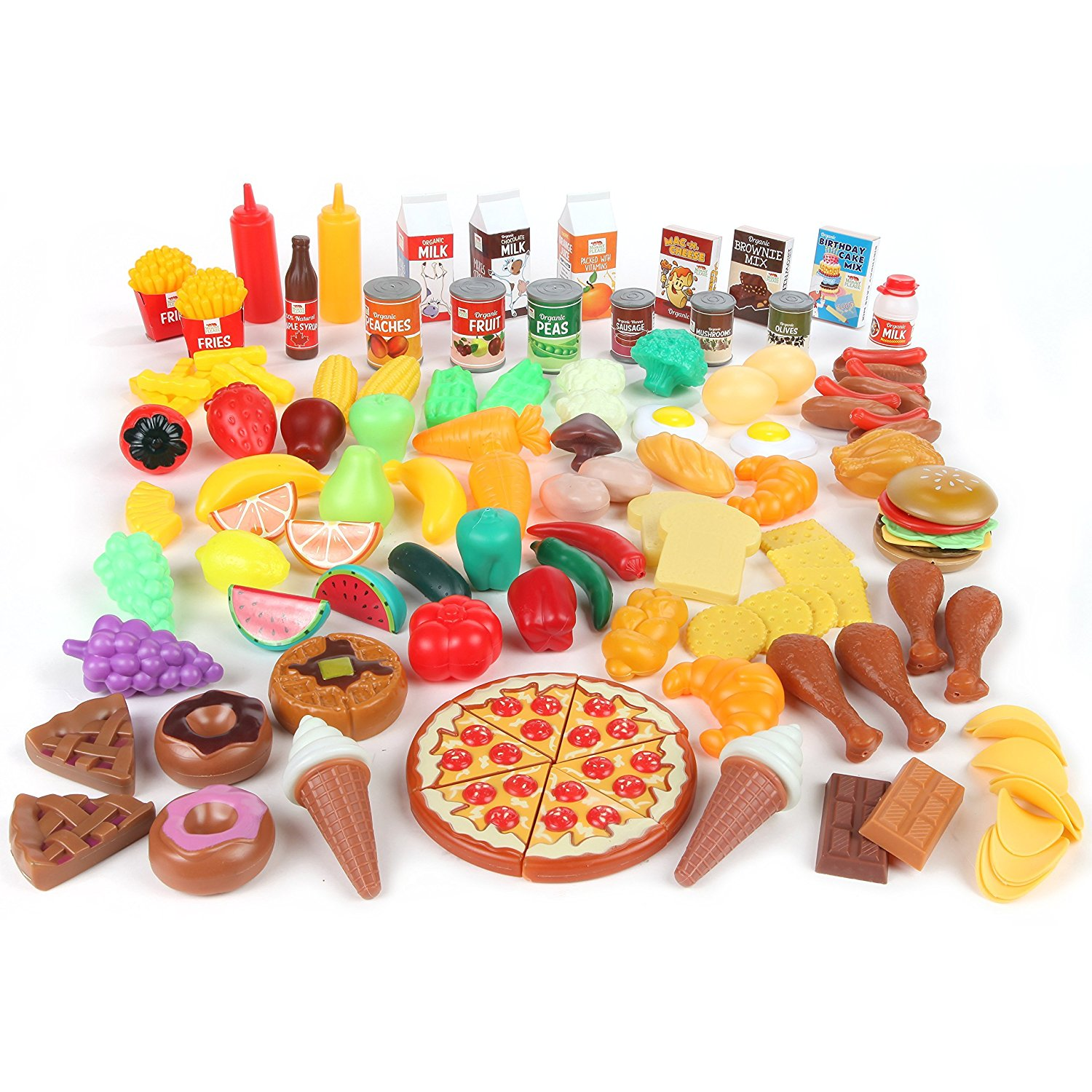 Realistic Play Food Toys : Musings of an average mom pretend play grocery store