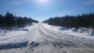 Дорога от Андриановской