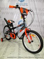 18 Inch Family Inferno Boy Kids Bike
