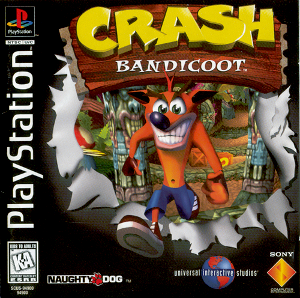 Crash Bandicoot cover