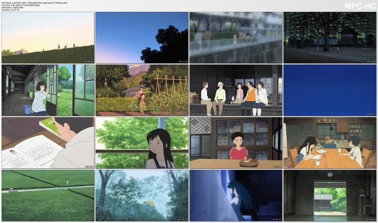 Capturas de Ookami Kodomo no Ame to Yuki