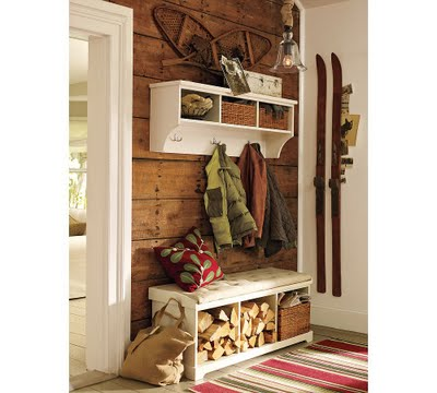 Decorating With Vintage Skis The Wicker House
