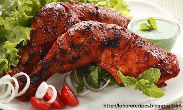 Tandoori Chicken Recipe in urdu - lahorerecipes.blogspot.com