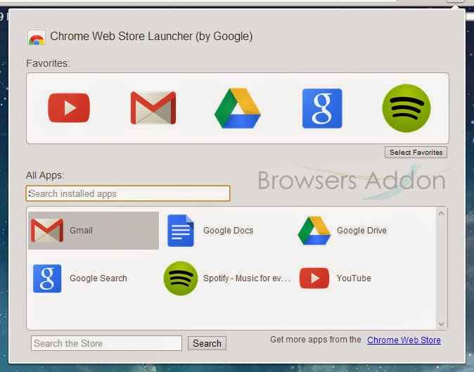 Chrome Web Store Launcher_searching_installed_apps_searching_chrome_store