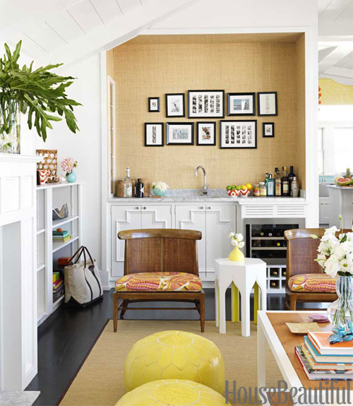 Chic Colorful Living Room: Mix And Chic: Home Tour- A 1960's Inspired Colorful And
