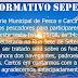 SECRETARIA DE PESCA & CARCINICULTURA CONVOCA REUNIÃO COM PESCADORES