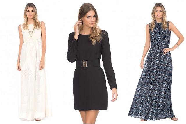 Loja que vende vestido curto e longo