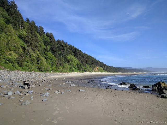 South Beach at the end of the trail