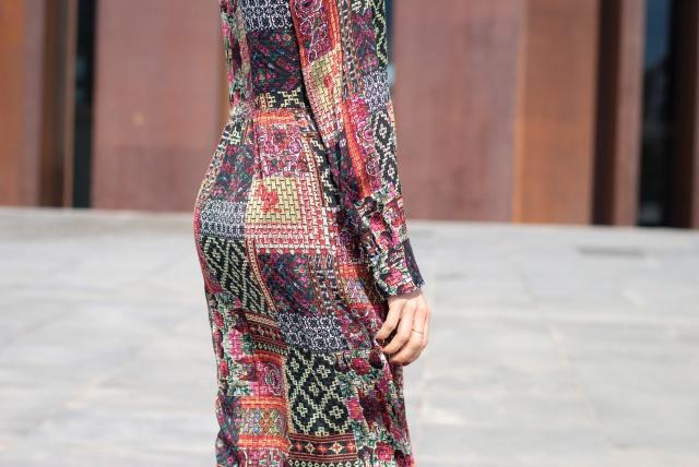Boho-dress-look