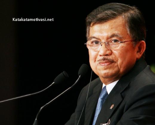 Kata Kata Motivasi Wakil Presiden RI Jusuf Kalla