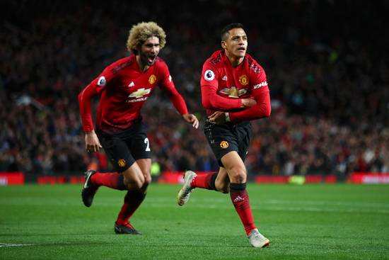 Manchester United win over Newcastle by 3-2, Sanchez's injury time Match winning goal