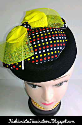 Yellow wedding fascinators in Kenya