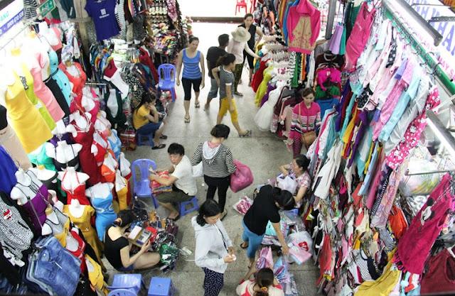 Một shop trong Chợ An Đông