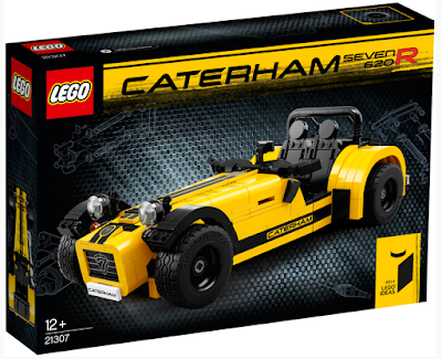 JUGUETES - LEGO Ideas  21307 Caterham Seven 620R   Producto Oficial 2016 | Piezas: 773 | Edad: +12 años  Comprar en Amazon España