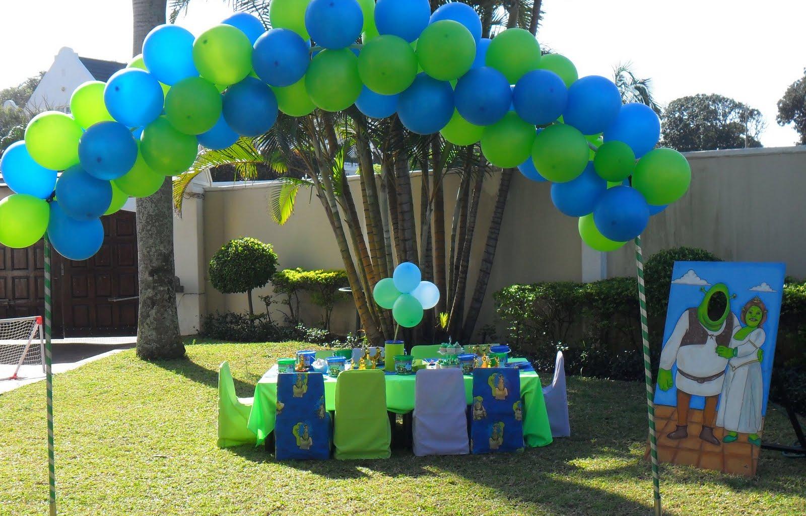 Glittering Gatherings Shrek Amp Fiona Party