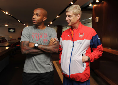 MUST READ: Wenger Reveals The Reason Why Thierry Henry Left Arsenal
