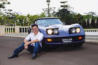 Beuuhh...Koleksi Mobil Klasik Sport Pak Viktor Muscle Car Indonesia..Waw BANGET !!!