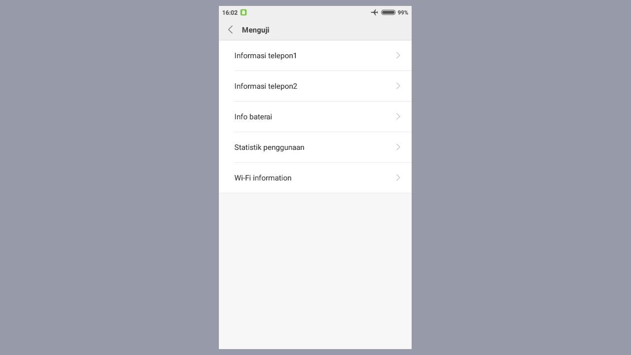 Aktifkan Internet Mode Pesawat Android